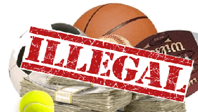 How much is wagered on illegal sports bets betting nfl offshore sports