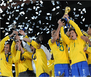 Brazil not in this year's Confederation Cup