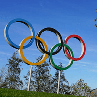 Upset over China hosting Olympics