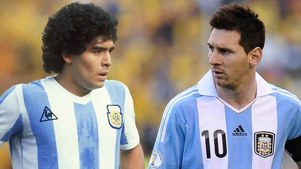 Two very different soccer legends