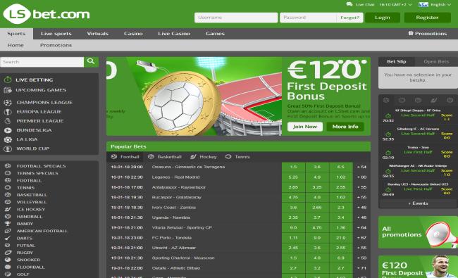 LS Bet Screenshots