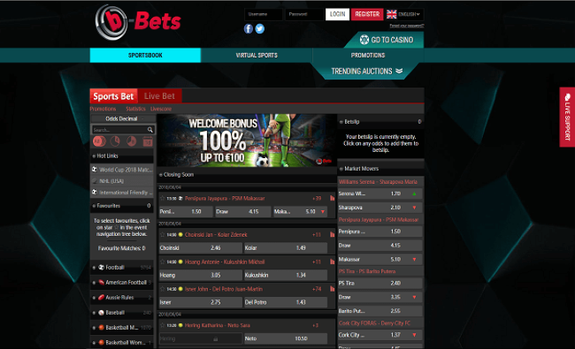 b-Bets live betting