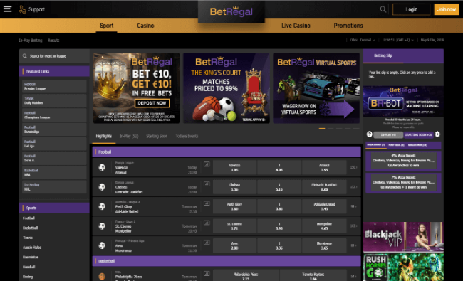 Betregal Live Betting
