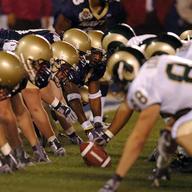Super Bowl teams in action